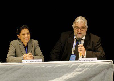 JM de Tremeuge et MA Cornu à l'Ouverture du MUN à Cannes