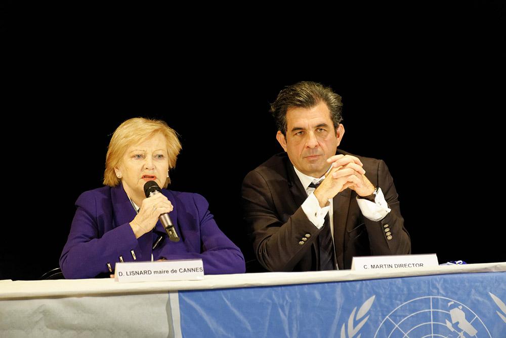 MUN (Modèle des Nations Unies) à Cannes