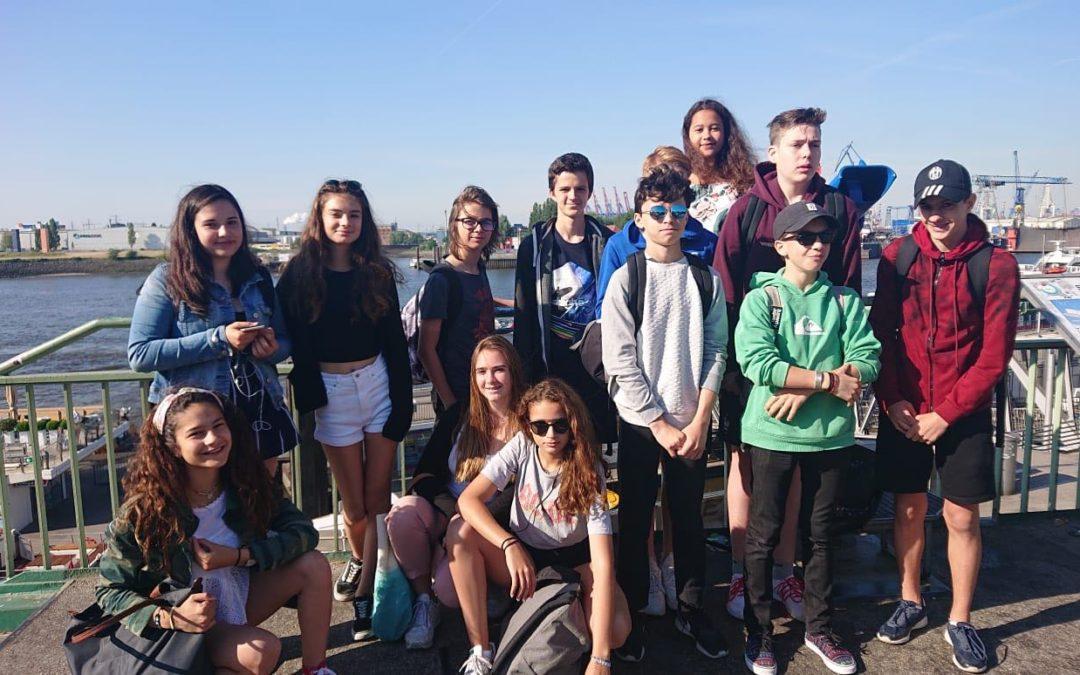 Échange scolaire : Hambourg