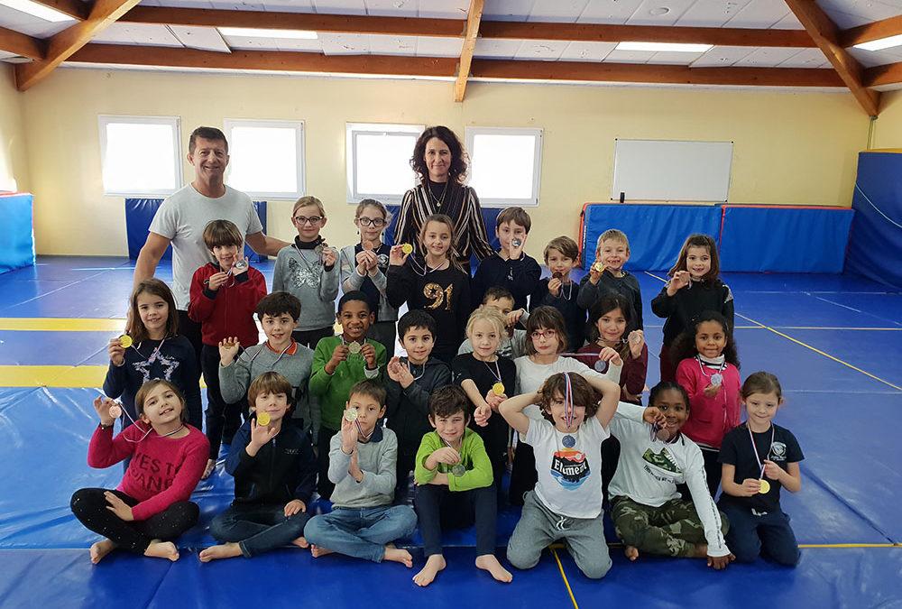 Tournoi de Noël de judo