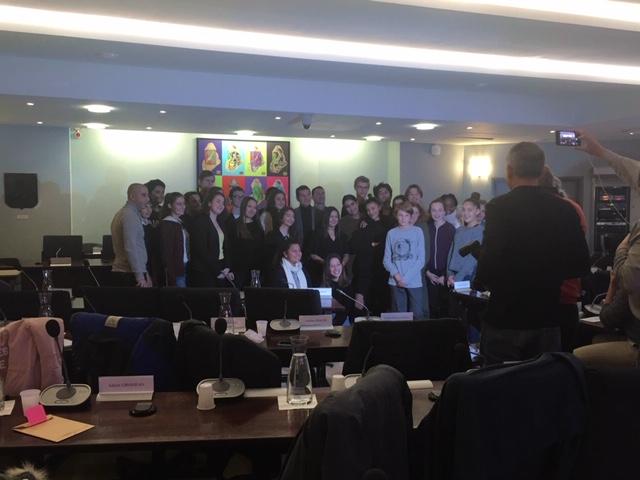 Conseil municipal des jeunes cannois