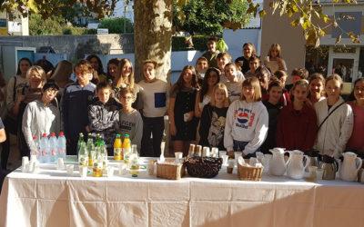 Visite d'un groupe de lycéens autrichiens