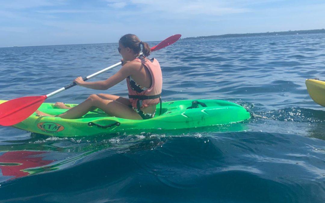 Paddle et kayak pour les élèves de Seconde