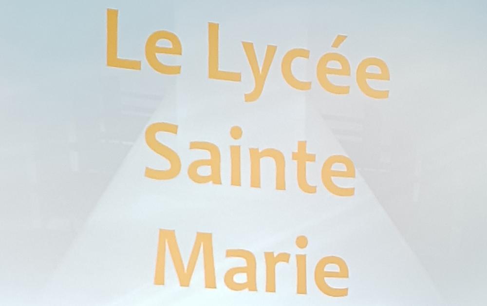 Présentation du Lycée Sainte Marie aux élèves de Troisième