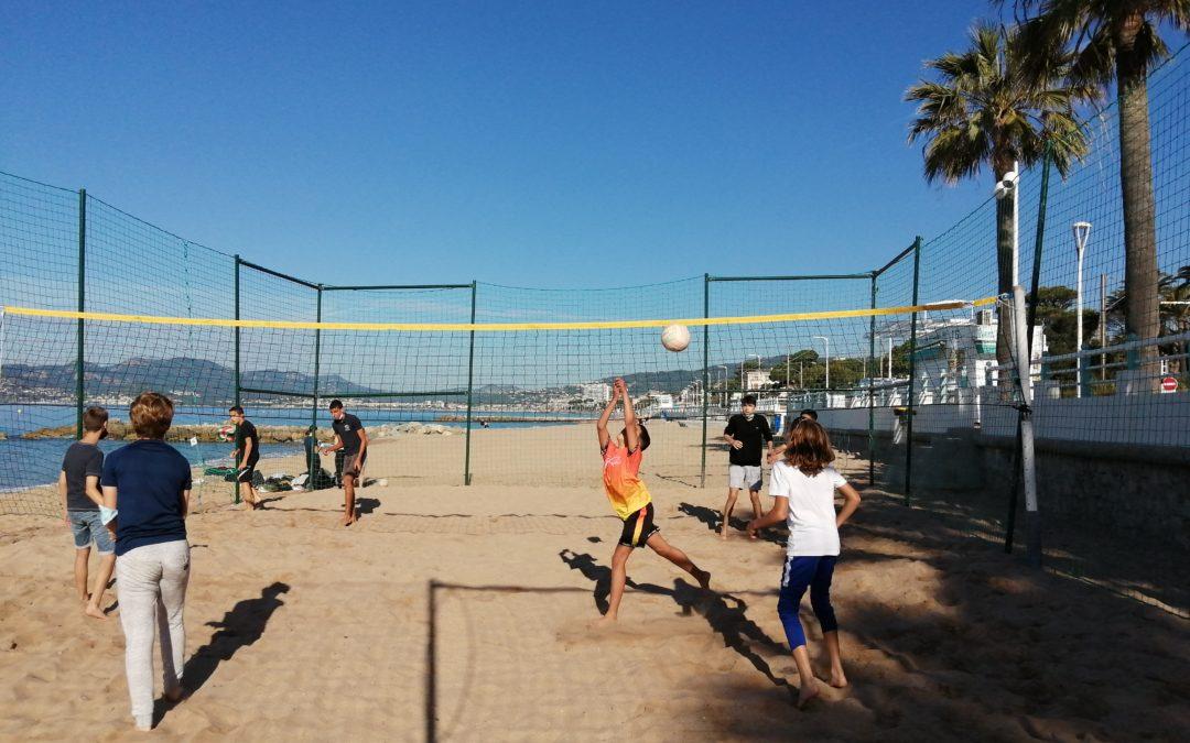 Sortie Beach Volley